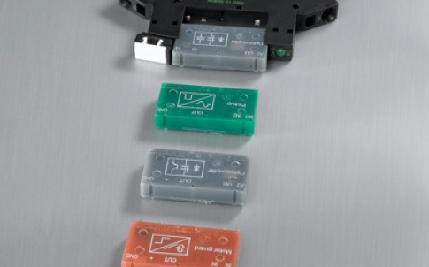 The plug modules are functional interface components, because they can be simply connected to the base socket
