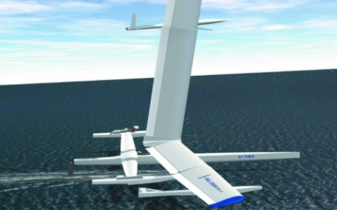 The engineers believe that the V-44 Albatross could soon break the 60-knot barrier