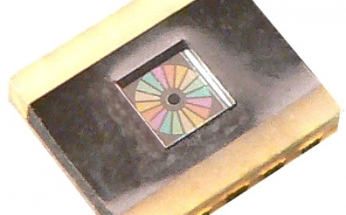 Six-channel multiple colour sensor – LCC10