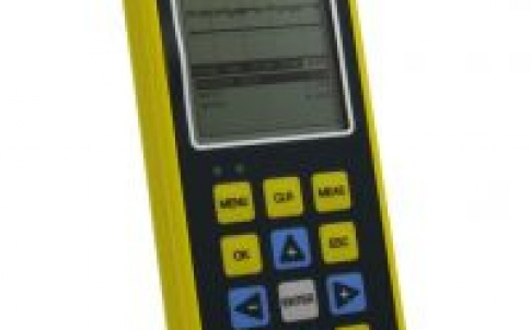The Microgage VX's A-Scan rectified mode is commonly used for detecting flaws/pits in pulse-echo mode, measuring thru-paint and coatings in echo mode