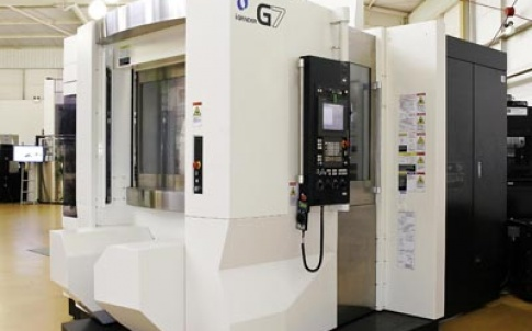 The Makino I-Grinder G7 VIPER creep-feed grinder is designed for machining predominantly nickel-based alloys in the manufacture of gas turbines