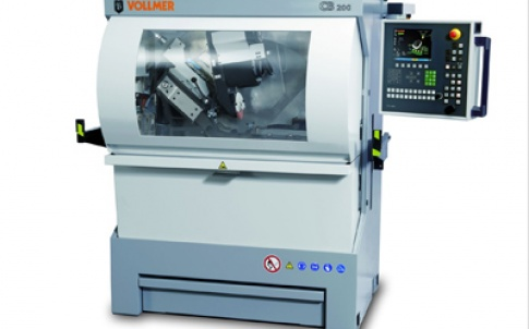 The CB 200 sharpening machine is designed for carbide-tipped bandsaws