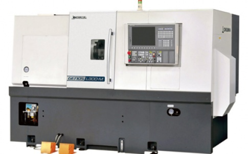 The Genos L300MW entry-level mill-turn centre will represent a new range of entry-level lathes and machining centres from Okuma