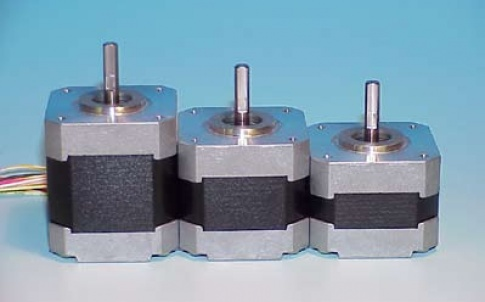 G Series 17 frame stepper motors