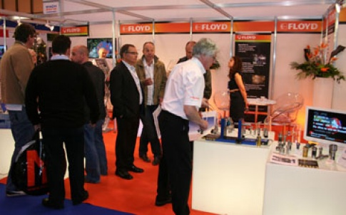 Floyd demonstrated a range of turning tools on its stand at Mach 2012