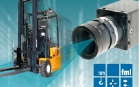 Integrating video cameras in material-handling devices such as forklift trucks considerably improves the efficiency and safety of the material flow process