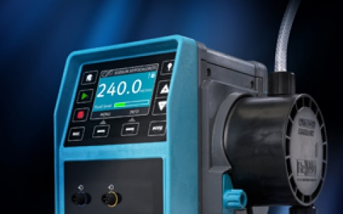 The Qdos 30 is claimed to eliminate ancillary equipment, enhance productivity and reduce chemical waste through more accurate, linear and repeatable metering than typical solenoid or stepper-driven diaphragm metering pumps
