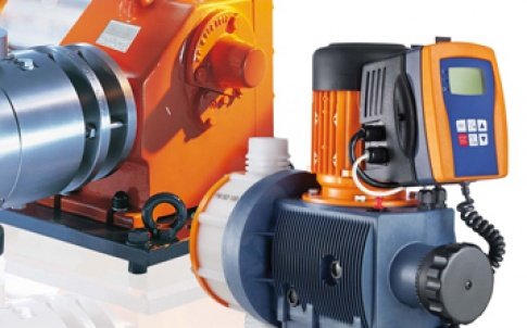 Motor-driven and process metering pumps