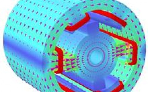 Simulation for electric motor