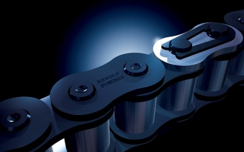 The Synergy chain's long wear life is proven in a range of different industries and manufacturing environments