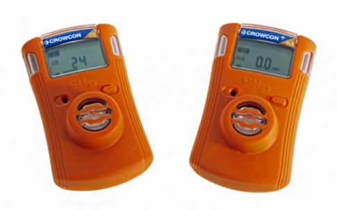 The Crowcon Clip and Clip+ single gas monitors are designed for use in hazardous areas