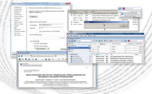 Endnote X6 gives researchers the ability to enhance the efficiency of their authorship activities by providing sync capabilities between Endnote and Endnote Web