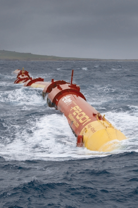 The Pelamis wave energy device