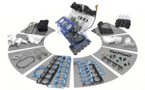 Sealing products for powertrain applications