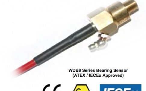 WDB8 series bearing temperature sensor