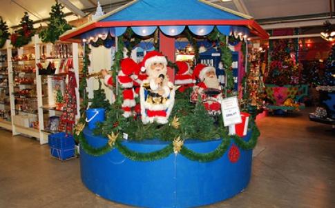 Santa carousel