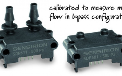 SDP611 and SDP601 differential-pressure sensors