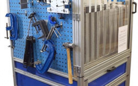 MCS aluminium framework system