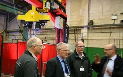 BVAA members tour Arc Energy's factory