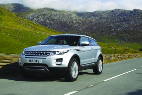 The Evoque is at the heart of the JLR success story