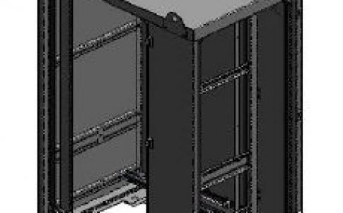 Half-height 699 cabinet