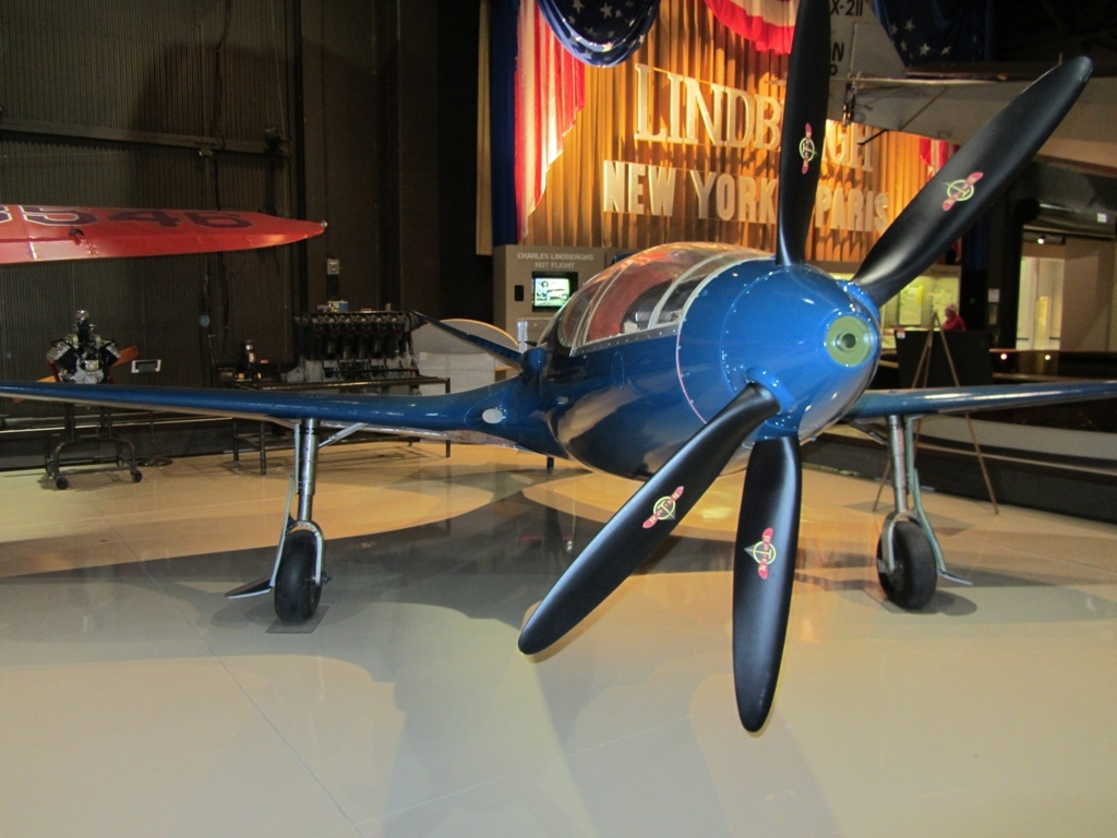 The original aircraft is on display at the Oshkosh AirVenture museum