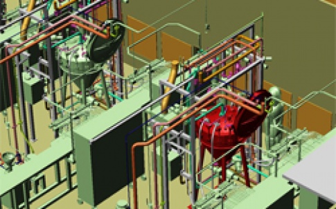 WSP CEL: 3D process plants with MPDS4