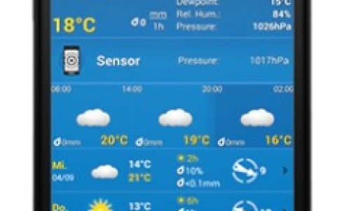 Weatherpro for Android 3.0