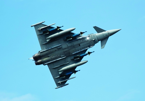 BAE Systems makes large chunks of the Eurofighter in the UK