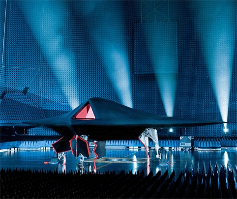 BAE's unmanned fighter Taranis
