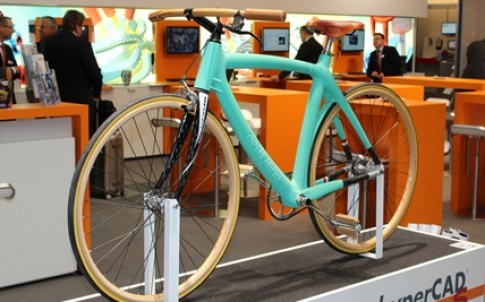 A designer bicycle constructed with HyperCAD-S