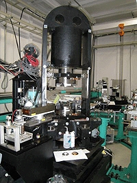 High pressure apparatus installed on the beamline BL14B1 at SPring-8, a third generation synchrotron radiation facility in Japan