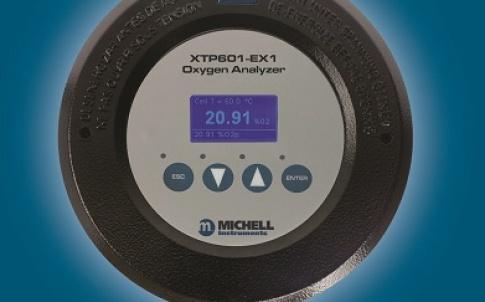 XTP601 oxygen analyser
