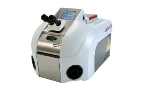 Desktop laser welding system