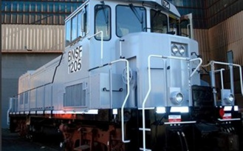 Fuel-cell hybrid locomotive