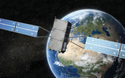 32-33 European navigation system satellite against Earth.jpg