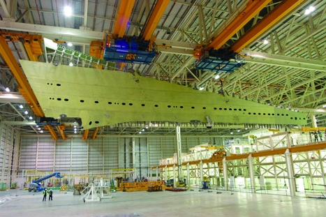 20% of each Airbus aircraft is made in the UK