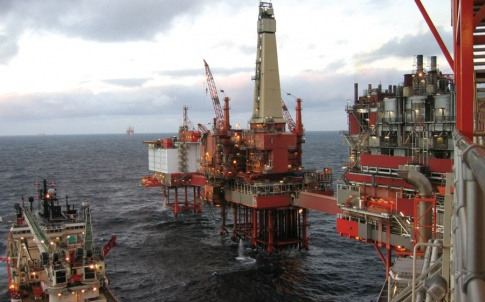 North Sea offshore oil and gas