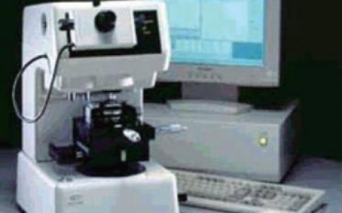 Overview of Shimadzu MCT-W500 micro compression testing machine