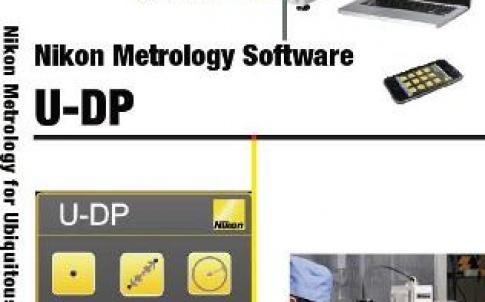 Nikon U-DP metrology software brochure cover