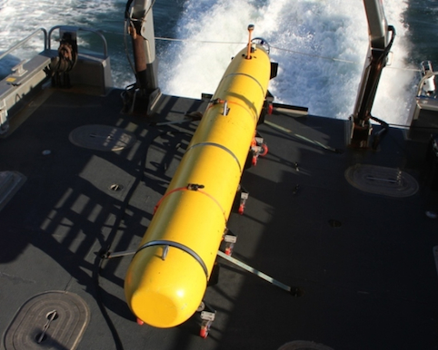 The Bluefin 21 AUV is hunting for missing Malaysian Airlines flight MH370