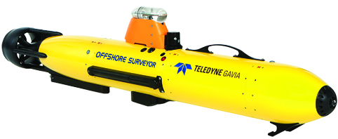The Gavia low-logistics AUV