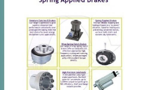 Spring-applied brakes brochure