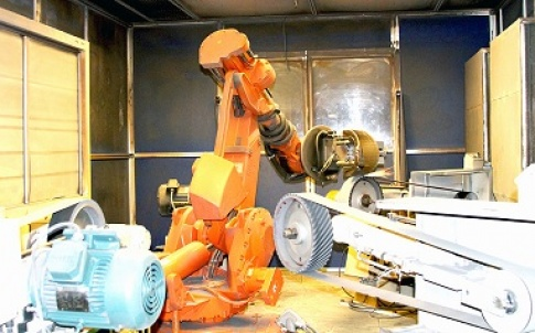 Mico Industries: robotic metal polishing