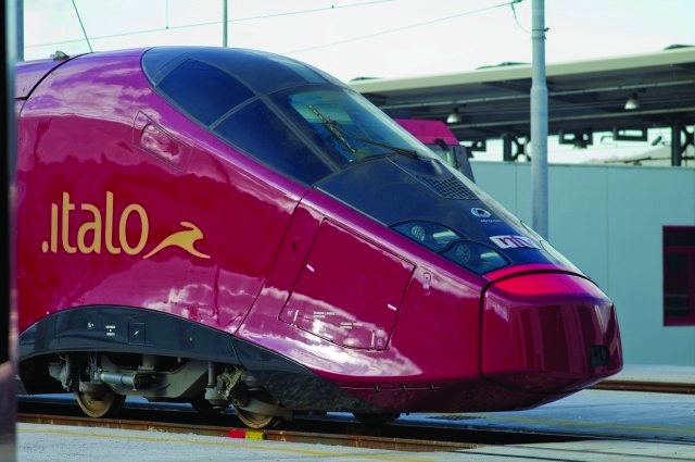 Italy's Italo high speed train has been inspired by Ferrari