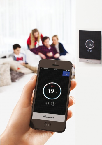 The Bosch WAVE system enables users to control a host of domestic systems from their smartphone