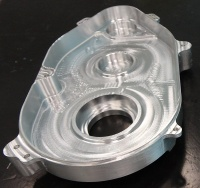 A 73 per cent reduction in machining time for this part was achieved by using Delcam's Vortex high-efficiency area-clearance strategy