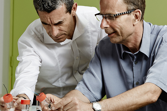 Serge Cosnier and Philippe Cinquin have developed implantable bio-fuel cells