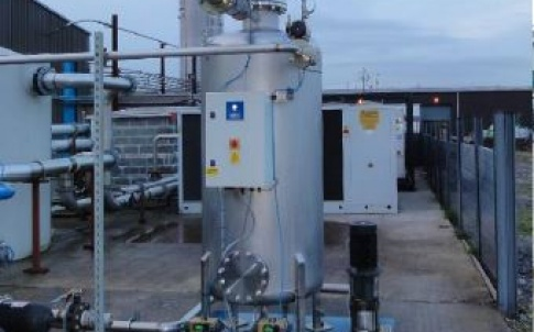 Process water filtration