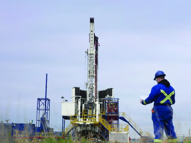 Cuadrilla fracking operation in Lancashire